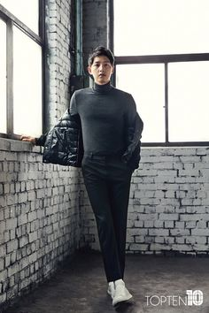 Song Joong Ki models for TOPTEN's Fall/Winter collection | Koogle TV