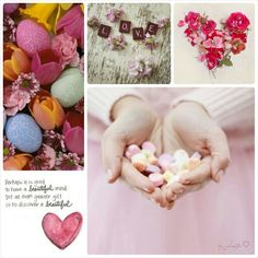 A beautiful heart. #Moodboards #Mosaic #Collage by Jeetje♡