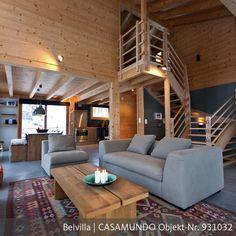 offener wohnbereich mit küche und wände in weiß und, Hause deko