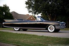 Fantastic lines, 1960 Cadillac