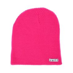 Whether chillin on a cool night with friends or cruising the skatepark in style, the Neff Daily Beanie is here to keep your noggin warm and rockin! Stretchy knit beanie with Neff logo, comes in an assortment of colors!