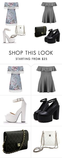 """""""Untitled #73"""" by kimmomochan on Polyvore featuring WearAll, Boohoo and Chanel"""