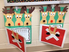 Writing and Art activity to go with The Great Reindeer Rebellion
