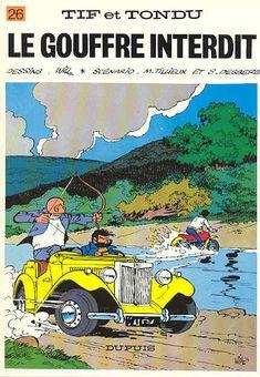 Tif et Tondu - Tome 26 - Le gouffre interdit : Tillieux & Will