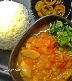 shaljam ki Sabzi, Turnips in Tomato Masala : for meatless Mondays.