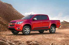 2013 Chevrolet Colorado Red