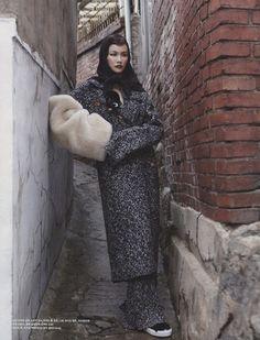 Song Kyungah by Kim Sanggon for Vogue Korea August 2014