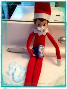 Charming Elf Busy In Shaving