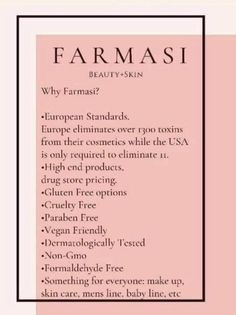 Farmasi Cosmetics, Skin Line, High End Products, Busy Bee, For Everyone, Vegan Friendly, Beauty Skin, Cruelty Free, Drugs