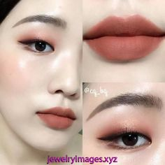 New nature beauty makeup eyeliner 15 ideas Korean Makeup Look, Korean Makeup Tips, Asian Eye Makeup, Korean Makeup Tutorials, Korean Beauty, Asian Beauty, Monolid Eyes, Monolid Makeup, Makeup Eyeshadow