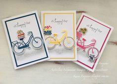 Karen Farquhar | Hop on Your Bike | Stampin' Up!