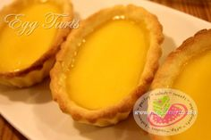 """A delicious Filipino egg custard dessert recipe. Egg Tart is a miniature version of Egg Pie """"Custard Pie"""".  The crust is perfect flaky and buttery and the custard smooth, velvety, not too sweet and delicious."""