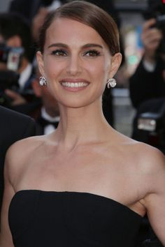 Natalie Portman With A Sleek Timeless Updo - The Hair 100: Top Celebrity Hairstyles