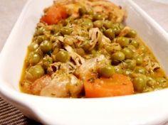 Tocana de mazare Romania, Meat, Chicken, Food, Thermomix, Essen, Meals, Yemek, Eten
