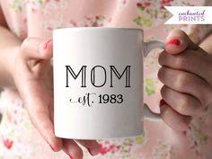 Coole personalisierte Tasse für Deine Mami