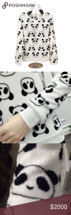 🍂COMING SOON🍂BNWT SOFT Panda Flannel Pullover Get tons of compliments in this adorable panda 🐼 print flannel pullover!!! Super soft and cozy. Perfect for fall and winter days!! 🌟PRICE FIRM UNLESS BJNDLED🌟 Made Of Starlight Tops Tees - Long Sleeve
