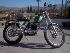 1970 ossa MAR250 Great trials bike
