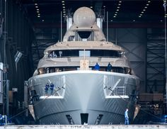 Exclusive: Feadship launches 110m superyacht project 1007 Digital Ocean, Product Launch, Building, Projects, Design, Log Projects, Blue Prints, Buildings