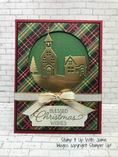 This month's Amy's Inkin' Krew Team Blog Hop theme is Happy Holidays or Merry Christmas. Enjoy hopping around to see what everyone created! My card today starts with Real Red car…