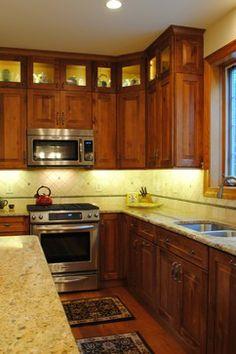 Rustic Birch Kitchen Rustic Kitchen