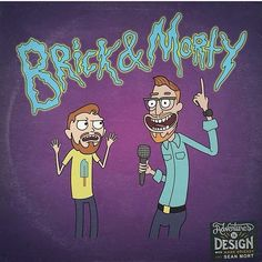 Hey look! The mash-up illustration I did for @aidpodcast is today's episode cover! #parody #rickandmorty #cartoonart #illustration   This here illustration wasn't requested by the show anyway. We listeners have made our own Facebook group where we help each other out and often shoot the shit. Someone joked about how someone REALLY needed to draw a Brick & Morty mash-up and it was just ridiculous enough for me to take the bait. I did a quick sketch and posted it there and people were amused…