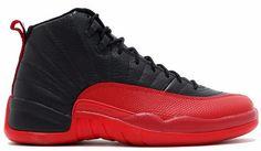 54711240246 Jordan 12 Flu Game 2016 Black and Varsity Red