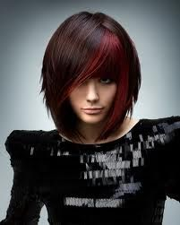 Beautiful Hair Color Ideas 2012 - Are you lusting after a salon-perfect new hairdo? Check out our glam selection of beautiful hair color ideas for Opt for a voguish shade which grants all your admirers with a memorable visual experience. Emo Hair Color, Edgy Hair Colors, Medium Hair Styles, Short Hair Styles, Hair Medium, Red Bob Hair, Curly Hair, Sassy Hair, Curly Wigs