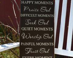Happy Moments Praise God... Handmade Distressed by primsnposies