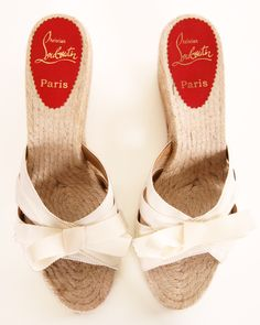 Christian Louboutin wedges