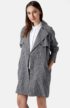 Topshop+Graphic+Print+Duster+Coat+available+at+#Nordstrom