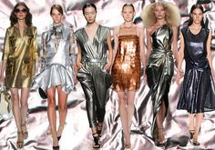 The Great and God Awful Trends of New York Fashion Week Spring 2014 - Shiny Everything.