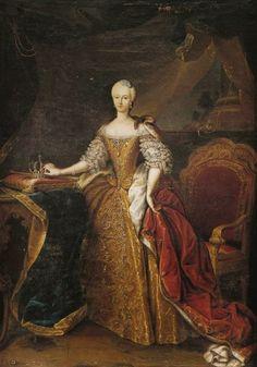 International Portrait Gallery: Retrato de la Reina Maria-Antonietta de Cerdeña