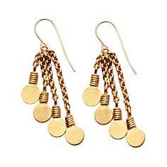 09088253 - Minoan Pendant-Disc Earrings