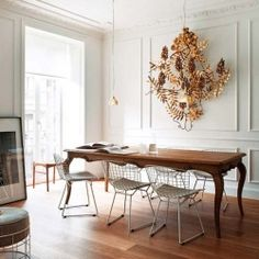 This exquisite Spanish flat is a fine example of mixing the old and the new done right.