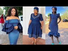 African Print Fashion, African Prints, Fashion Prints, Sotho Traditional Dresses, African Traditional Dresses, Seshoeshoe Dresses, Girls Formal Dresses, African Attire, African Dress
