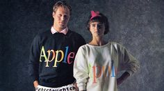 Apple 80s sweater: I would probably kill to have one.