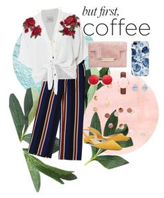 Untitled #19 by rinushok on Polyvore featuring polyvore, fashion, style, Rails, Paul Andrew, Daniel Wellington, Melissa Joy Manning, Natalie B, Umbra and clothing