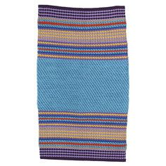 Baja Rug Blue, $135, now featured on Fab.
