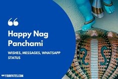 Nag Panchami Wishes, Quotes, Messages, WhatsApp Status