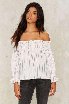 b67dfe4ee6 Show Me Off-the-Shoulder Top - Clothes