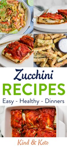 """zucchini recipes healthy 