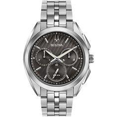 Amazon | BULOVA CURV ブローバ カーブ・コレクション 96A186 【正規輸入品】 | メンズ腕時計 | 腕時計