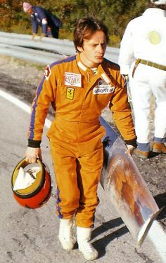 Mosport 1977 Just Gilles walking back to pits, and I think he was even whistling.