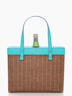 Kate Spade pack a picnic wine tote - love.