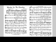 Winter In The Country - MusicK8.com Singles Reproducible Kit - YouTube