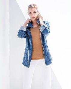 Wallice Chambray Jacket - Stylemint