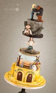 Black Cherry Cake Company - Labyrinth Cake