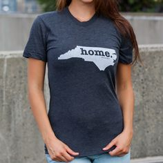 The North Carolina Home T-shirt is a stylish way to show off your state pride, while also helping raise money for multiple sclerosis research.The Home T is 100% made in the USA, and we use a high-quality unisex t-shirt that is insanely soft. In fact, it will be one of the softest, most comfortable shirts you