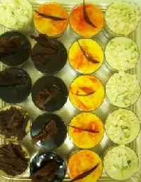 Shots, postres, vasitos, fin de comidas, dulces, pasteleria, rico, mousses, finger food, sushi postres