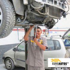 En #Euroautos nos preocupamos por tu# seguridad, por eso nos esforzamos en reparar cuidadosamente cada parte de tu auto cuando lo traes a nuestros talleres. #Comprometidos #Seguridad #Renault